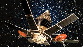 1 января на землю рухнет двухтонный спутник Молния-3-45