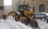 Заснеженный Петербург расчищали более 1160 единиц техники