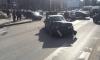 На Светлановском проспекте BMW протаранил Volkswagen