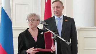 Губернатор Петербурга вручил государственные награды Алисе Фрейндлих и Михаилу Боярскому