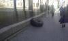 На Каменноостровском оторвавшееся колесо Jeep Wrangler собрало пять машин и двух прохожих