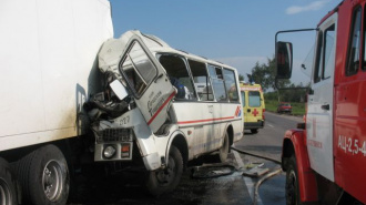 18 человек госпитализированы после ДТП в Дзержинске