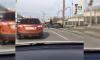 Audi влетела в столб на пересечении набережной Обводного канала и Митрофаньевского шоссе