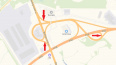 В Петербурге на сутки перекроют два съезда с КАД на Выбо...