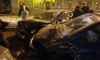 Пьяный водитель повредил пять машин на Васильевском острове