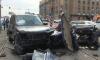 В ДТП на Заневском Жигули разорвало на части, водитель погиб