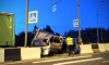 Водитель Hyundai погиб после столкновения с фурой и отбойником на трассе М-10