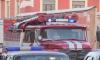 Ночью во Всеволожском районе сгорел автосервис