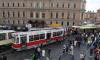 Парад ретро-транспорта прошёл на улицах Петербурга