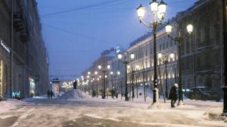 В конце рабочей недели в Петербург пришла оттепель