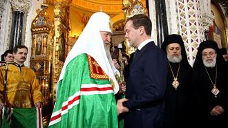 Патриарх Кирилл приехал с официальным визитом в Китай
