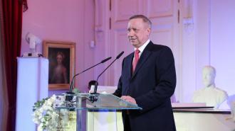 Беглов поздравил петербургских дипломатов с наступающими праздниками