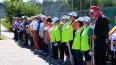 Скандинавская ходьба, эстафета и дартс - ветераны ...