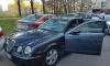 Инспекторы в Парголово со стрельбой остановили пьяного водителя Jaguar