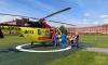 В Ленобласти вертолеты санавиации спасли семерых людей