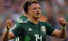 Нападающий сборной Мексики не смог сдержать слез после победы над Германией
