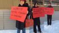 Активисты вышли с одиночными пикетами против стройки ...