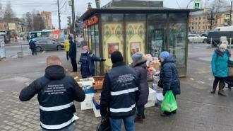 В Петербурге ликвидировали 39 незаконных торговых точек