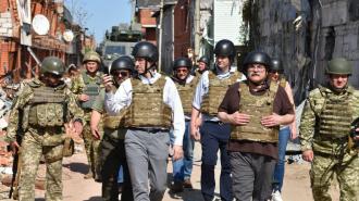 Делегация США посетила позиции ВС Украины на Донбассе