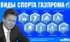 """СМИ подсчитали все спортивные проекты """"Газпрома"""""""