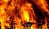 В понедельник в Санкт-Петербурге горели две бытовки на стройке в Московском районе