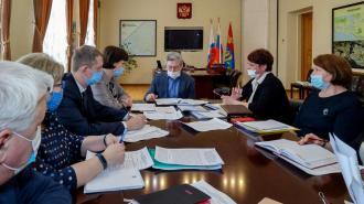 Ильдар Гилязов встретился с с руководством комитета по труду и занятости населения Ленобласти