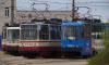 Три трамвая изменят маршрут до середины июня из-за работ на Среднеохтинском