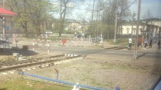 В Петербурге у станции Царское Село электричка сбила женщину