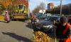 За неделю в Петербурге службы убрали 3,7 тысячи тонн мусора и грязи