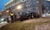 Подрезанная каршерингом легковушка влетела в столб на Московском проспекте