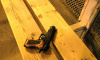 На Ленсовета неизвестный забыл на автобусной остановке пистолет