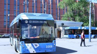 В Красногвардейском районе будет построен автобусный парк на 400 электробусов