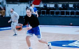 """Баскетбольный """"Зенит"""" сыграет последний в году домашний матч с """"Црвеной Звездой"""""""