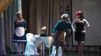 В Петербурге театр глухих представил спектакль в жанре пантомимы