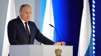 """Турецкое СМИ: послание Путина было """"манифестом нового мира"""""""