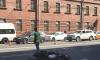 В Петербурге на Суворовском серьезное ДТП, образовалась огромная пробка