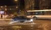 Фото потопа на Светлановской площади появились в Сети