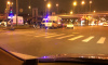 На Витебском проспекте минивэн столкнулся с маршрутным такси