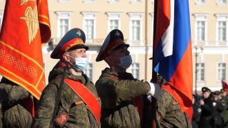 Петербуржцев призвали носить маски во время Дня Победы