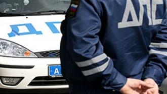 На Невском проспекте сбит старший инспектор ДПС ГИБДД