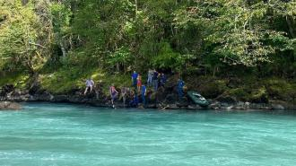 В реке Бзыбь нашли тело молодой петербурженки, погибшей при аварии на квадроцикле