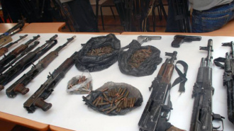 Крупнейший тайник с оружием найден в Ингушетии