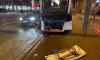 Автомобиль из Петербурга устроил ДТП с трамваем в Таллине