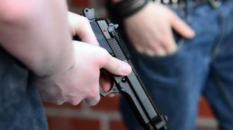 На Наставников поймали рецидивиста, ограбившего магазин с игрушечным пистолетом