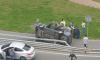 В ДТП на пересечении Вербной и Афонской улиц перевернулся автомобиль