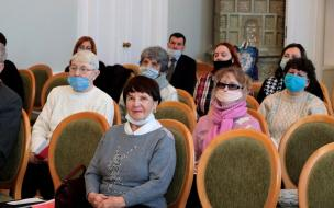 В Выборге местное общество слепых подвело итоги деятельности за 5 лет