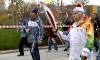 98-летний факелоносец принял эстафету Олимпийского огня