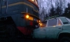 Утром под Петербургом пьяный водитель ВАЗ протаранил товарный состав