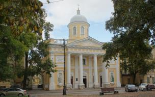 На Васильевском острове будет отреставрирована статуя апостола Петра лютеранской церкви св. Екатерины