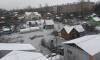 Садовые участки в Колпино сковал лед из-за затопления